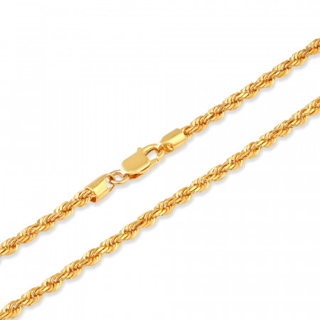 22ct Gold Rope Chain 34242-2