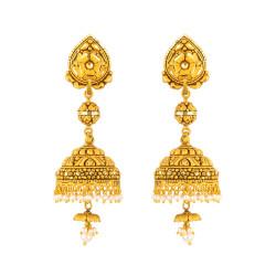 22ct Gold Jumkha 40024