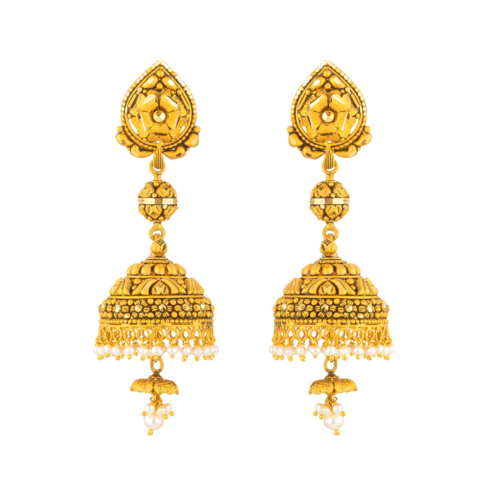 22ct Gold Jumkha 40024