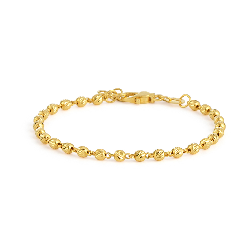 Glow Collection 22ct Gold Ladies Bracelet -33465
