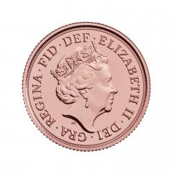 Queen Elizabeth II Gold Sovereign – 2020