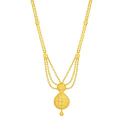 Jali Collection 22ct Gold Necklace 26369