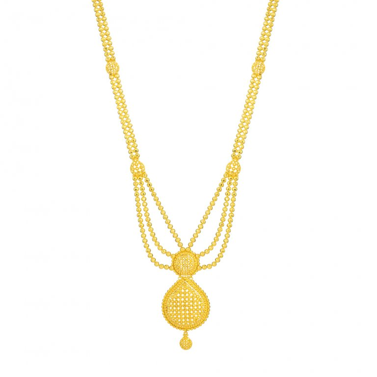 Jali Collection 22ct Gold Necklace 49.3gm