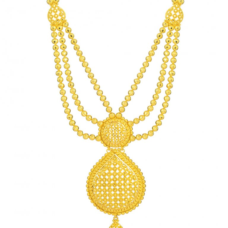Jali Collection 22ct Gold Necklace 26369-2