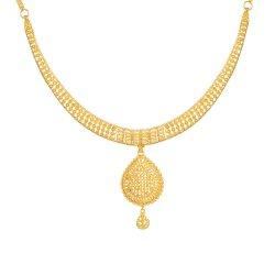 Jali Collection 22ct Gold Necklace 27.5gm
