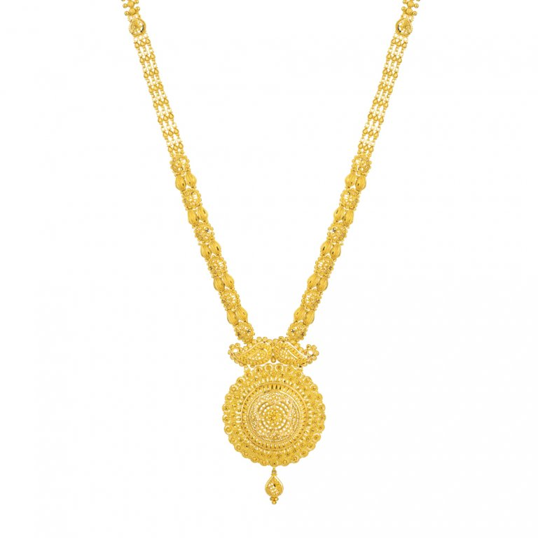 Jali Collection 22ct Gold Necklace 52.3gm