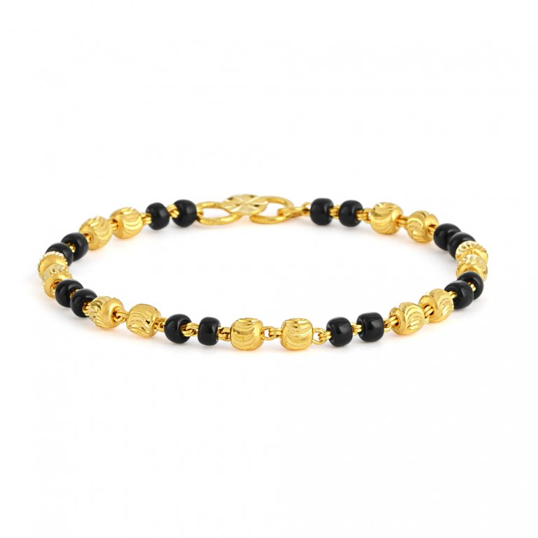 22ct Gold Baby Bracelet 2.3gm