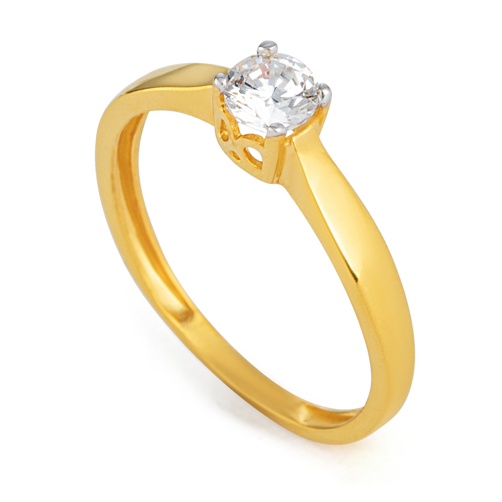 22ct Gold Ring 33546-01