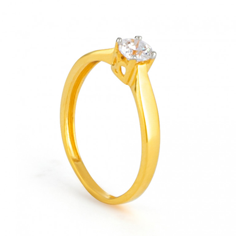 22ct Gold Ring 33546-02