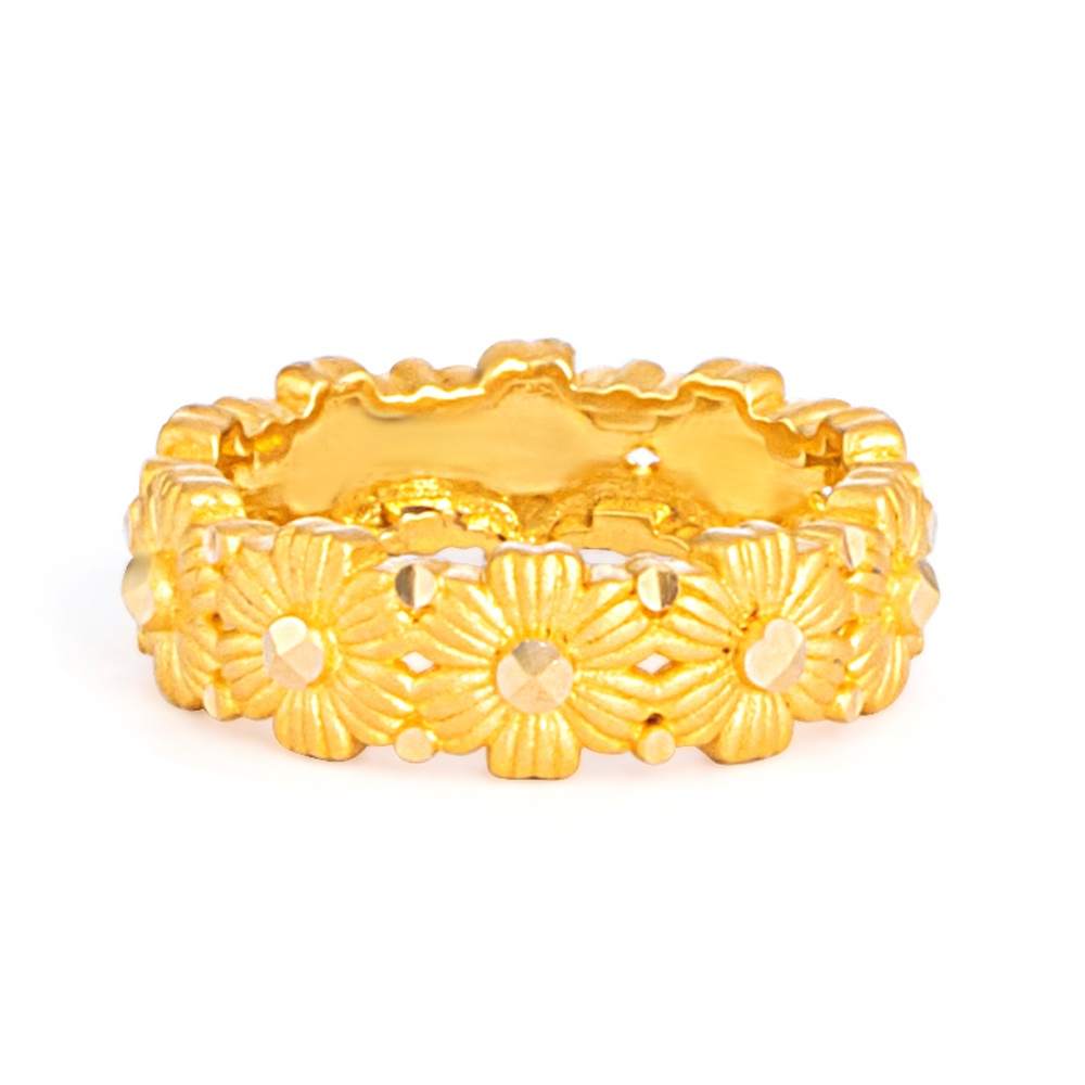 22ct Gold Ring 33553-02