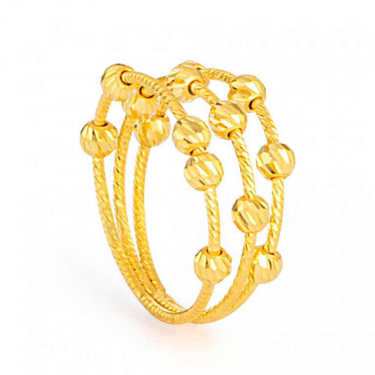 22ct Gold Ring 33570-01