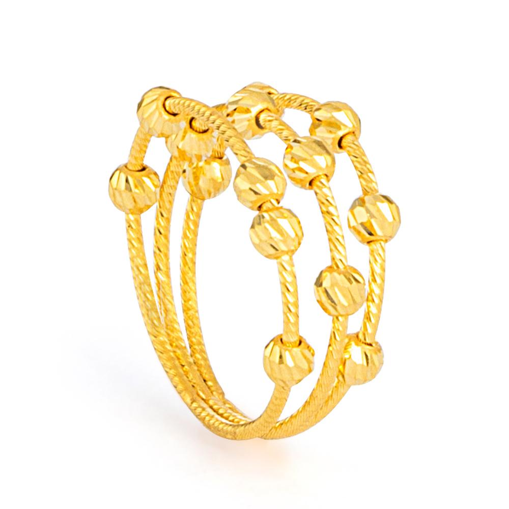 22ct Gold Ring 33570-01