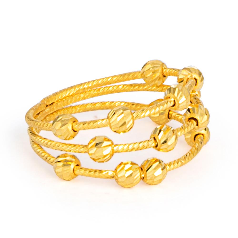 22ct Gold Ring 33570-02