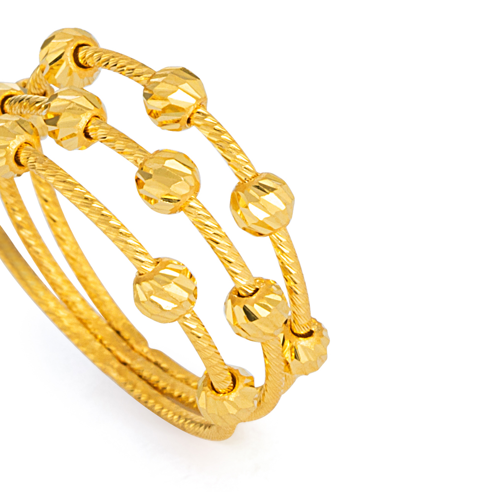 22ct Gold Ring 33570-03