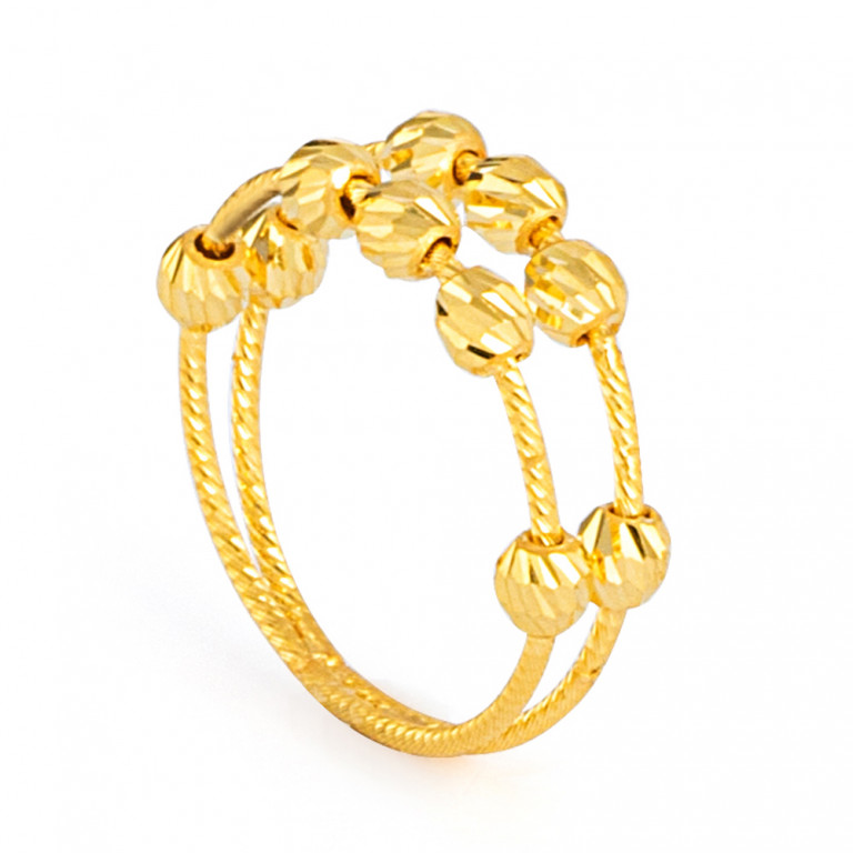 22ct Gold Ring 33571-01