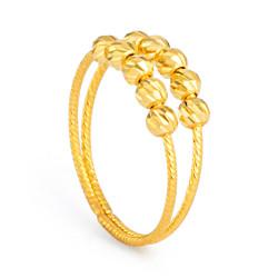 22ct Gold Ring 33573-01