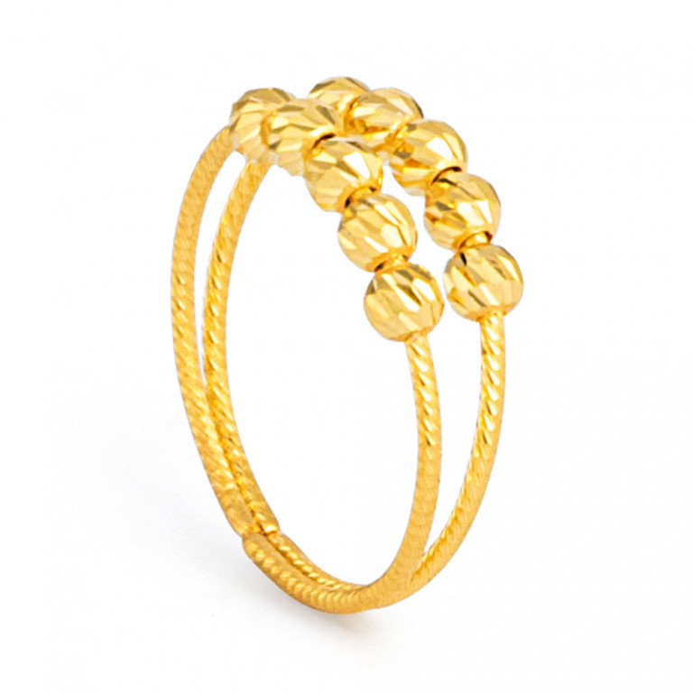 22ct Gold Ring 33573-01