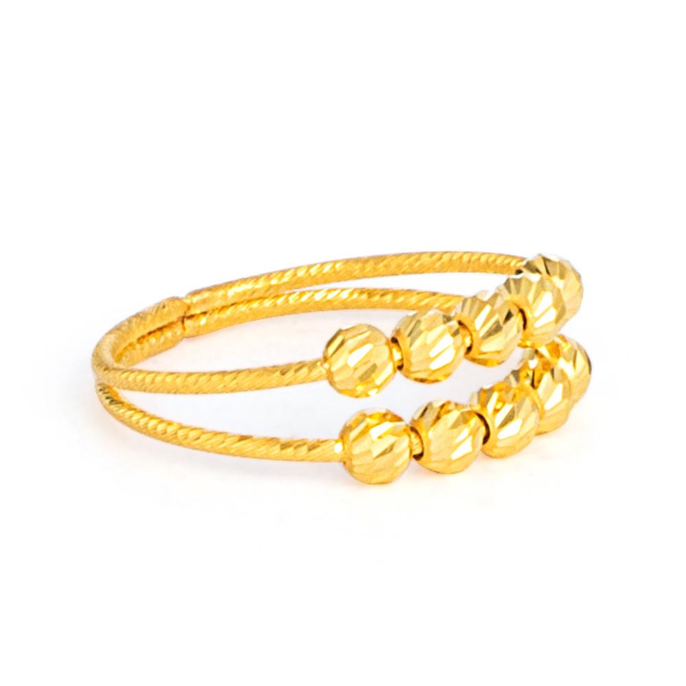 22ct Gold Ring 33573-02