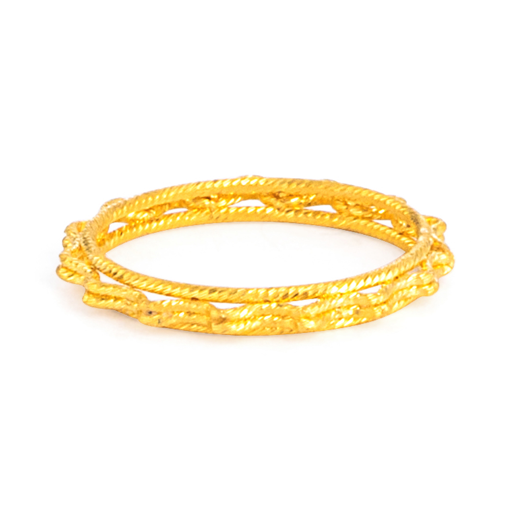 22ct Gold Ring 33574-02