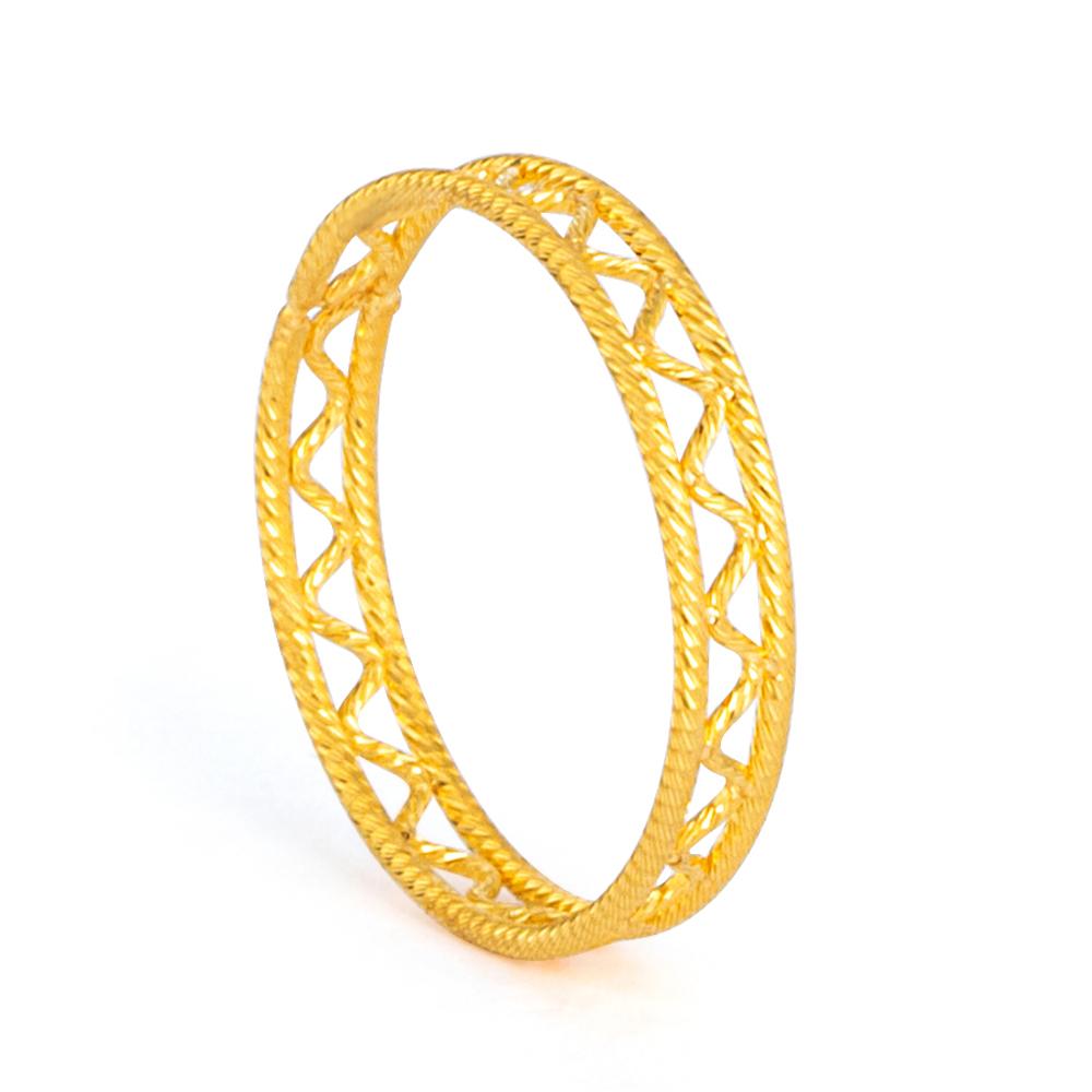 22ct Gold Ring 33576-01
