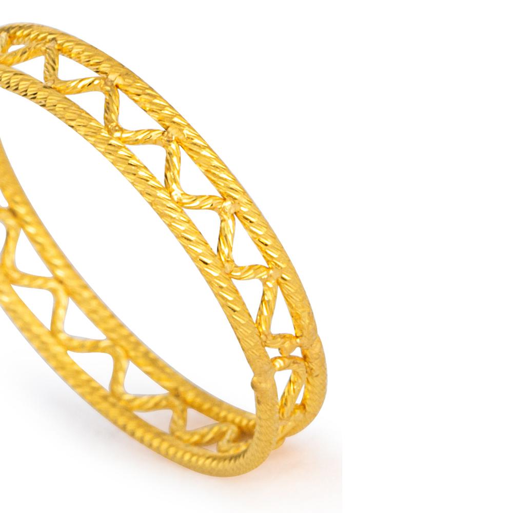 22ct Gold Ring 33576-03