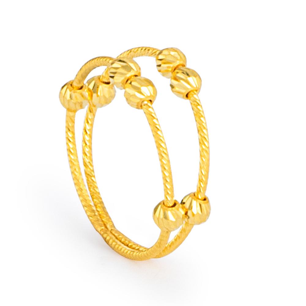 22ct Gold Ring 33577-01