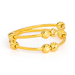 22ct Gold Ring 33577-02