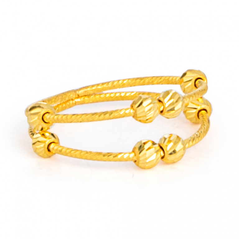 22ct Gold Ring 33577-02