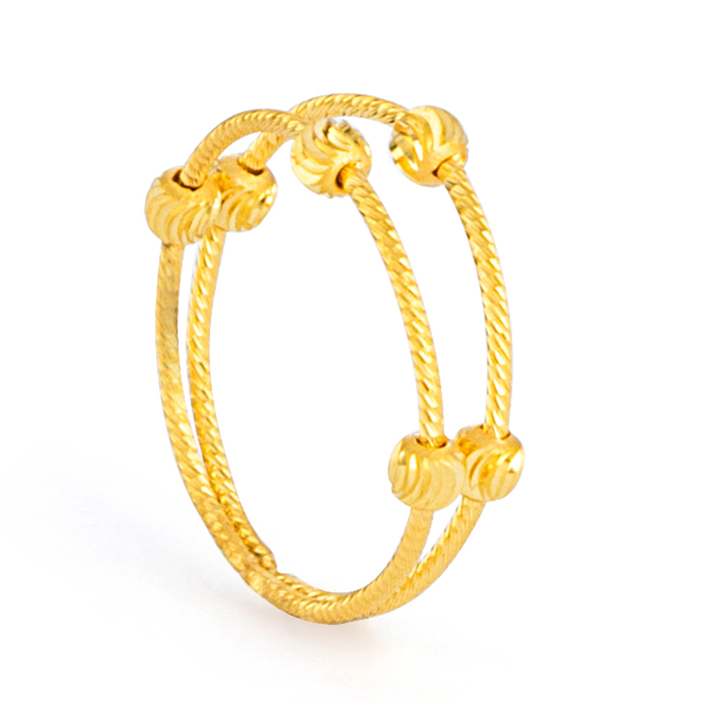 22ct Gold Ring 33578-01