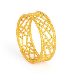 22ct Gold Ring 33579-01