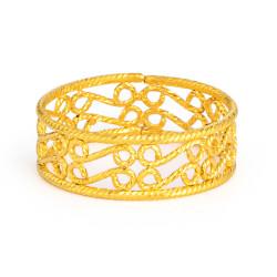 22ct Gold Ring 33579-02