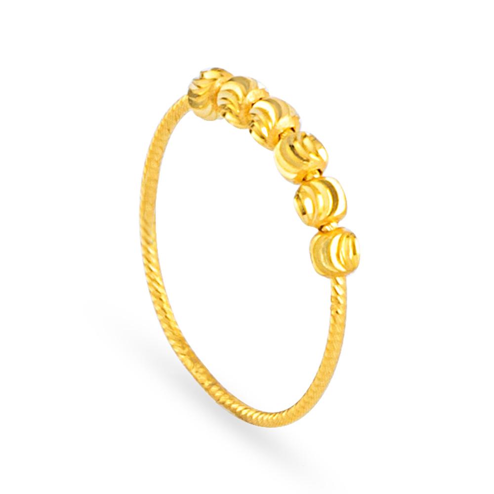 22ct Gold Ring 33580-02