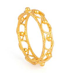 22ct Gold Ring 33581-01