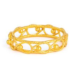 22ct Gold Ring 33581-02