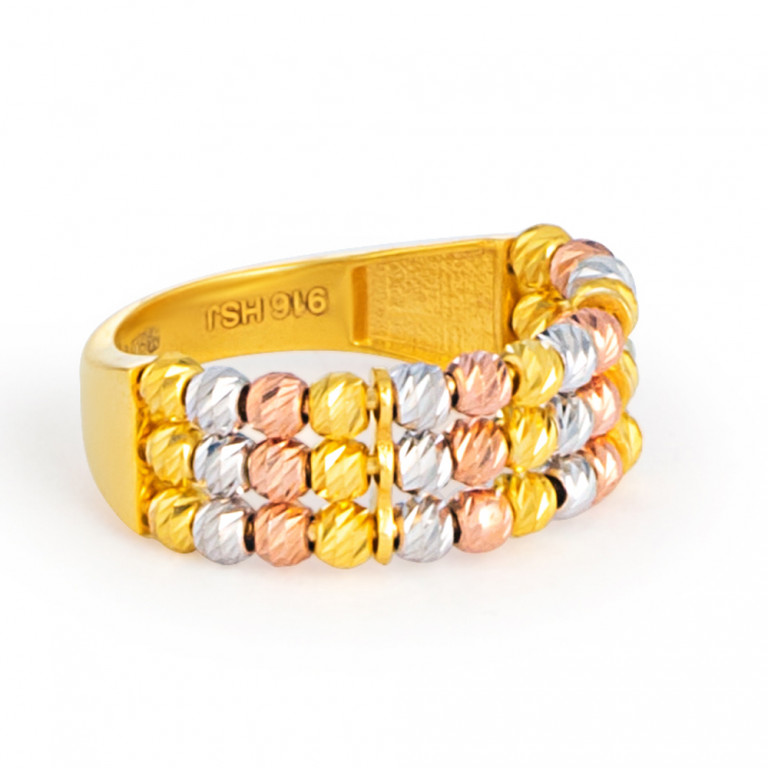 22ct Gold Ring33586-02