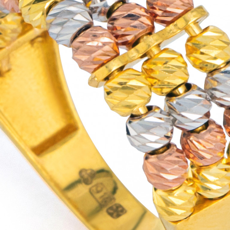 22ct Gold Ring 33586-03