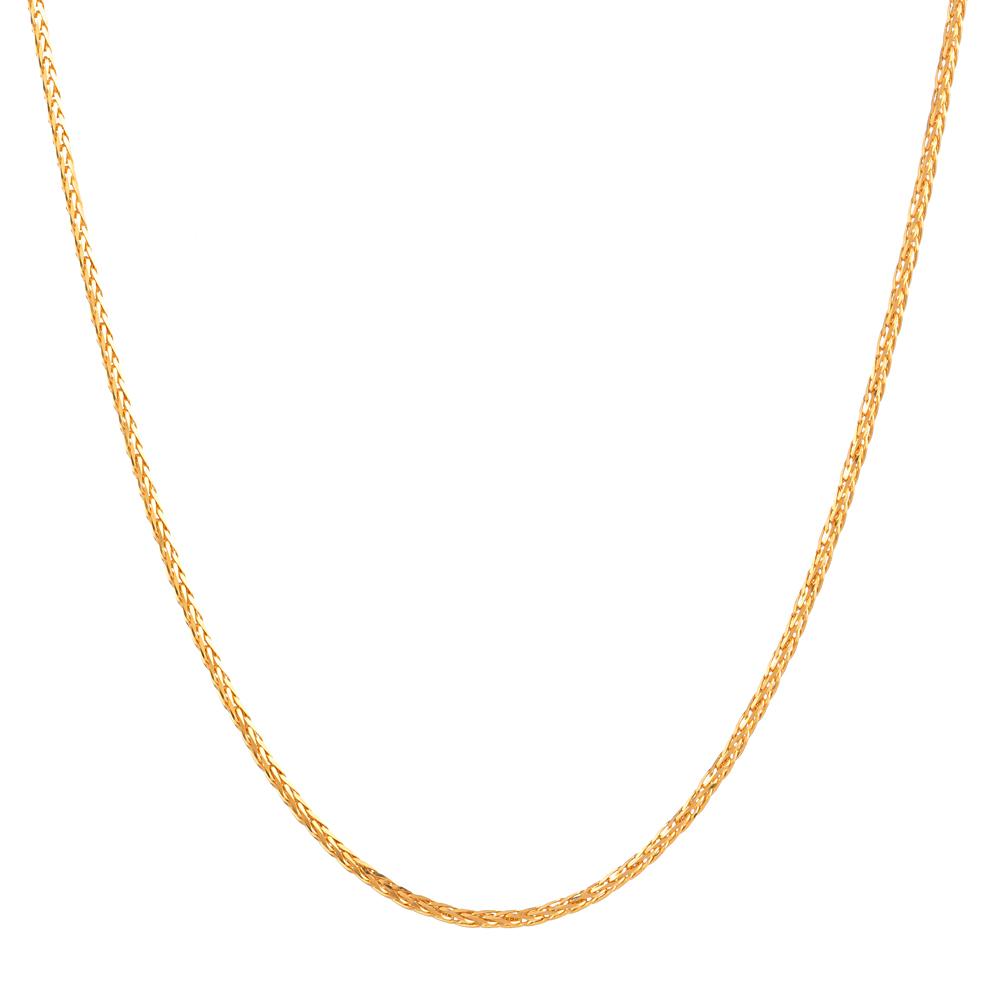 22ct gold spiga chain