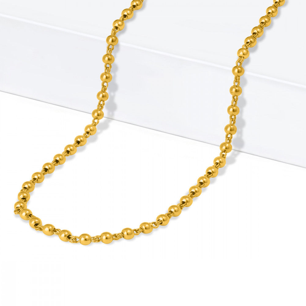 22ct Gold Glow Chain 33504-2