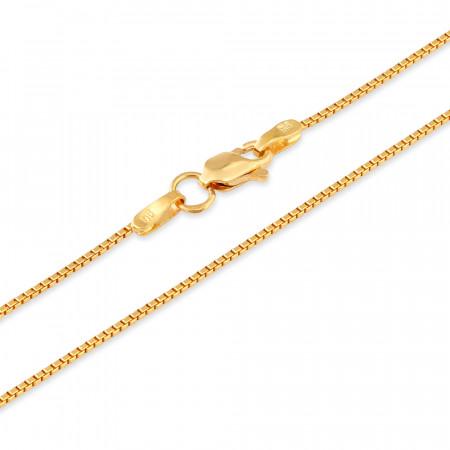 22ct Gold Box Chain 33032-2
