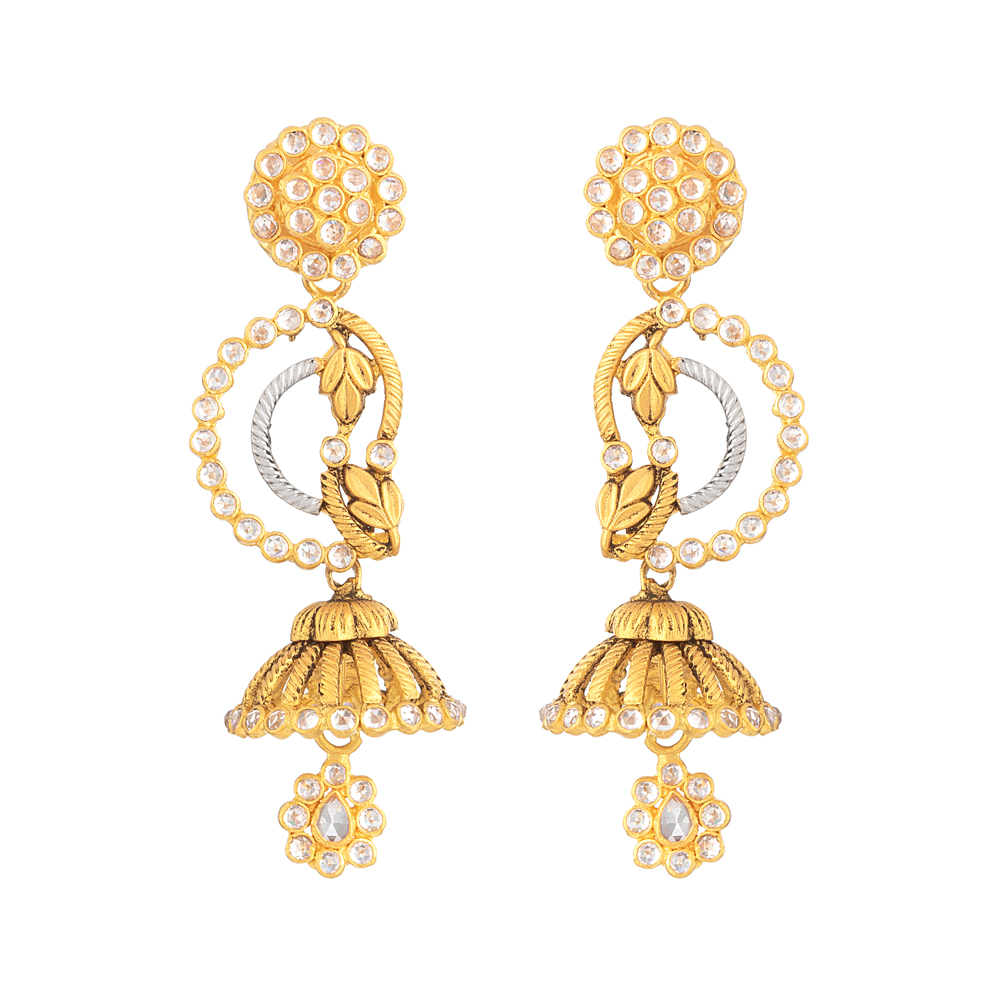 22ct Gold Earring 32856