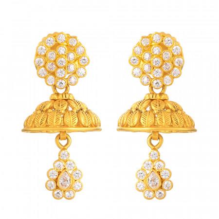 22ct Gold Jumkha 32862