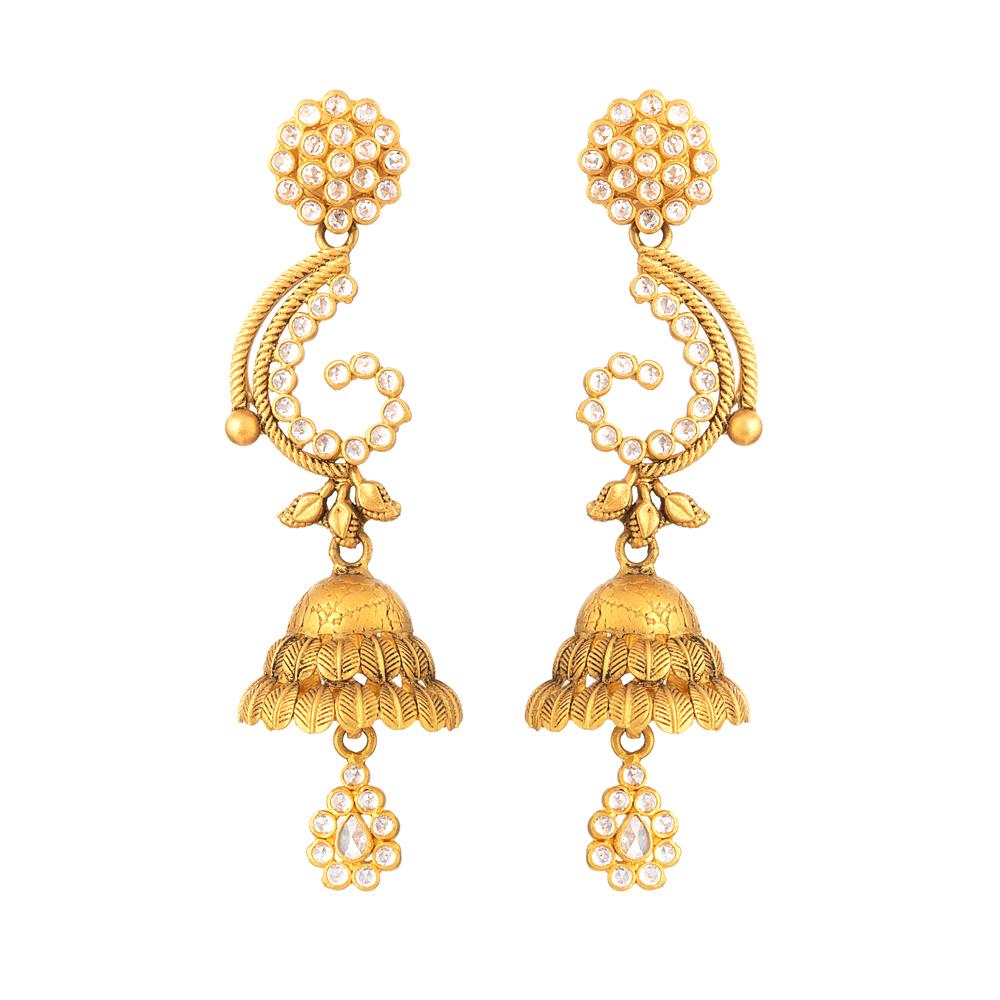 22 carat Gold Anusha Earring