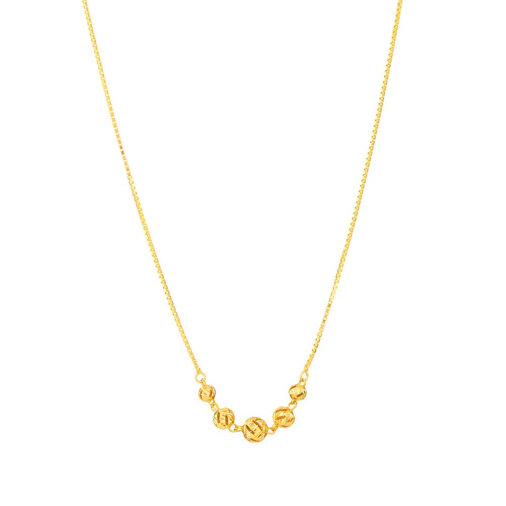 22ct Gold Choker 33142