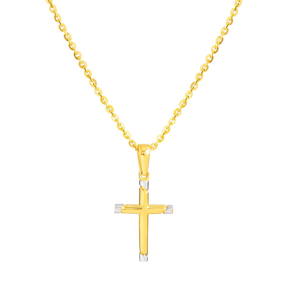 22ct Gold Cross Pendant 33608