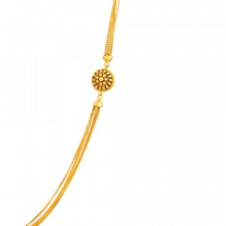 22ct Gold Choker Chain - 33628