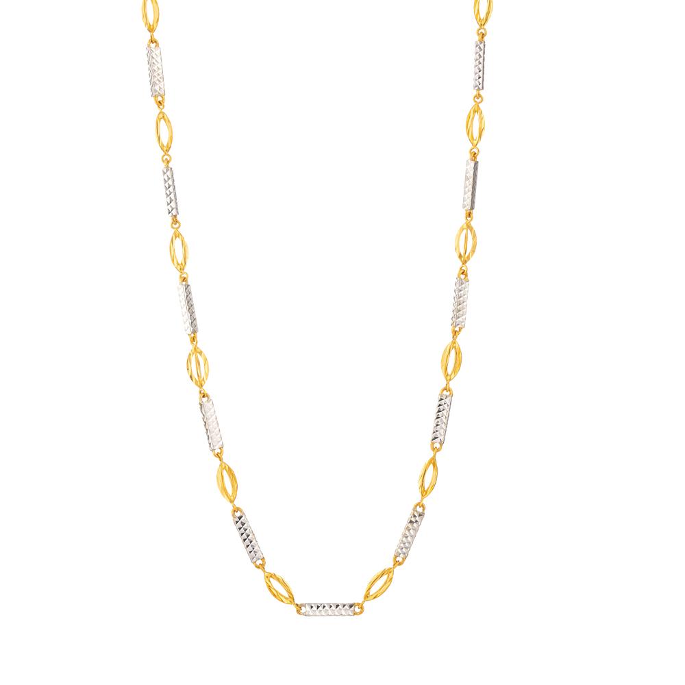 22ct Gold Choker chain 33631-1