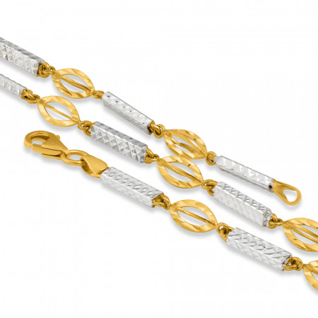 22ct Gold Fancy Chain 33631-2