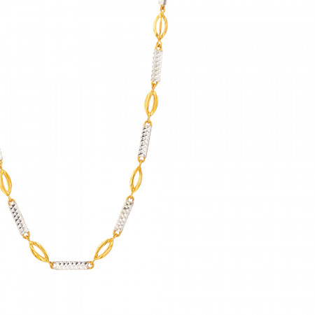 22ct Gold Choker chain 33631-2