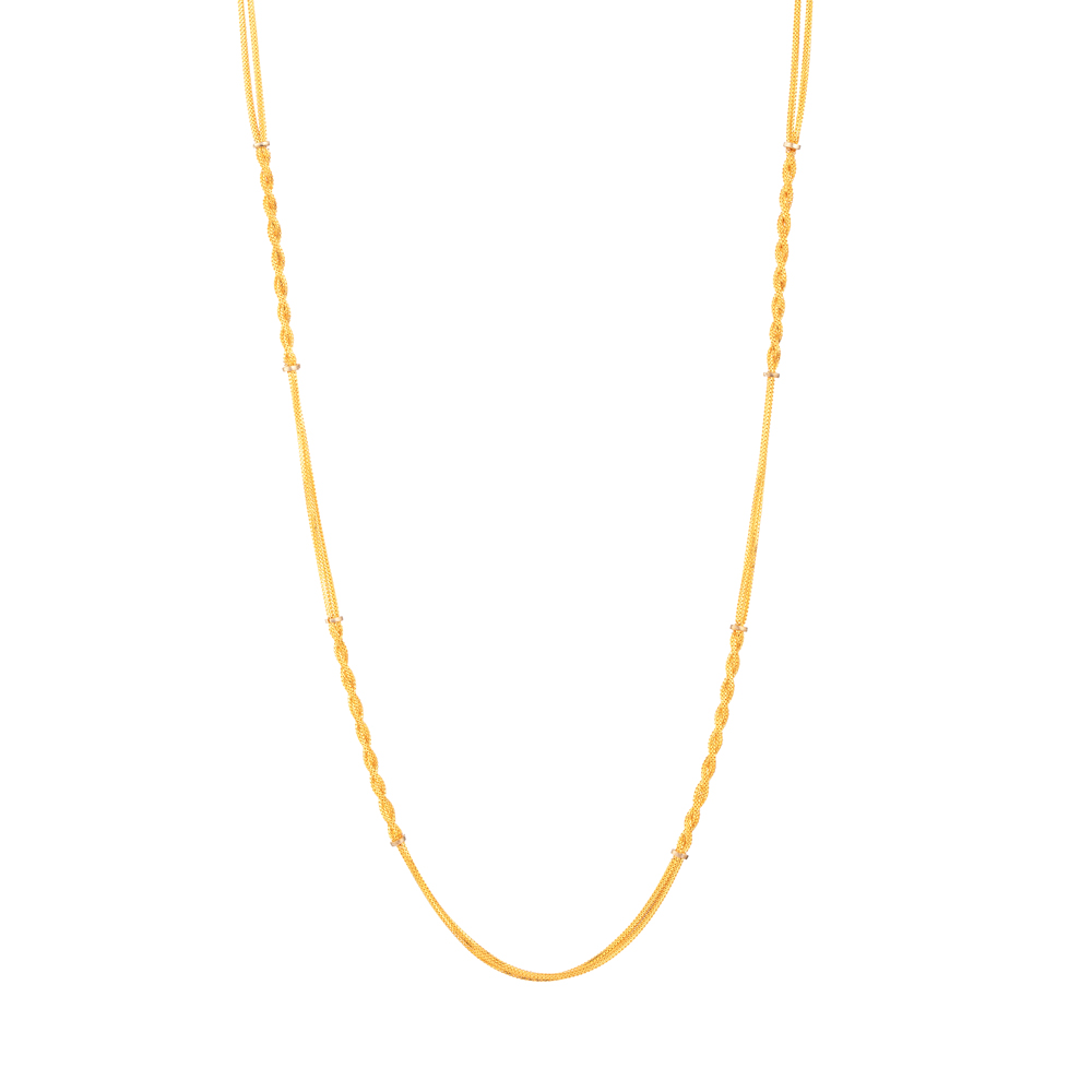 22ct Gold Chain in 20 Inches - 33633-1