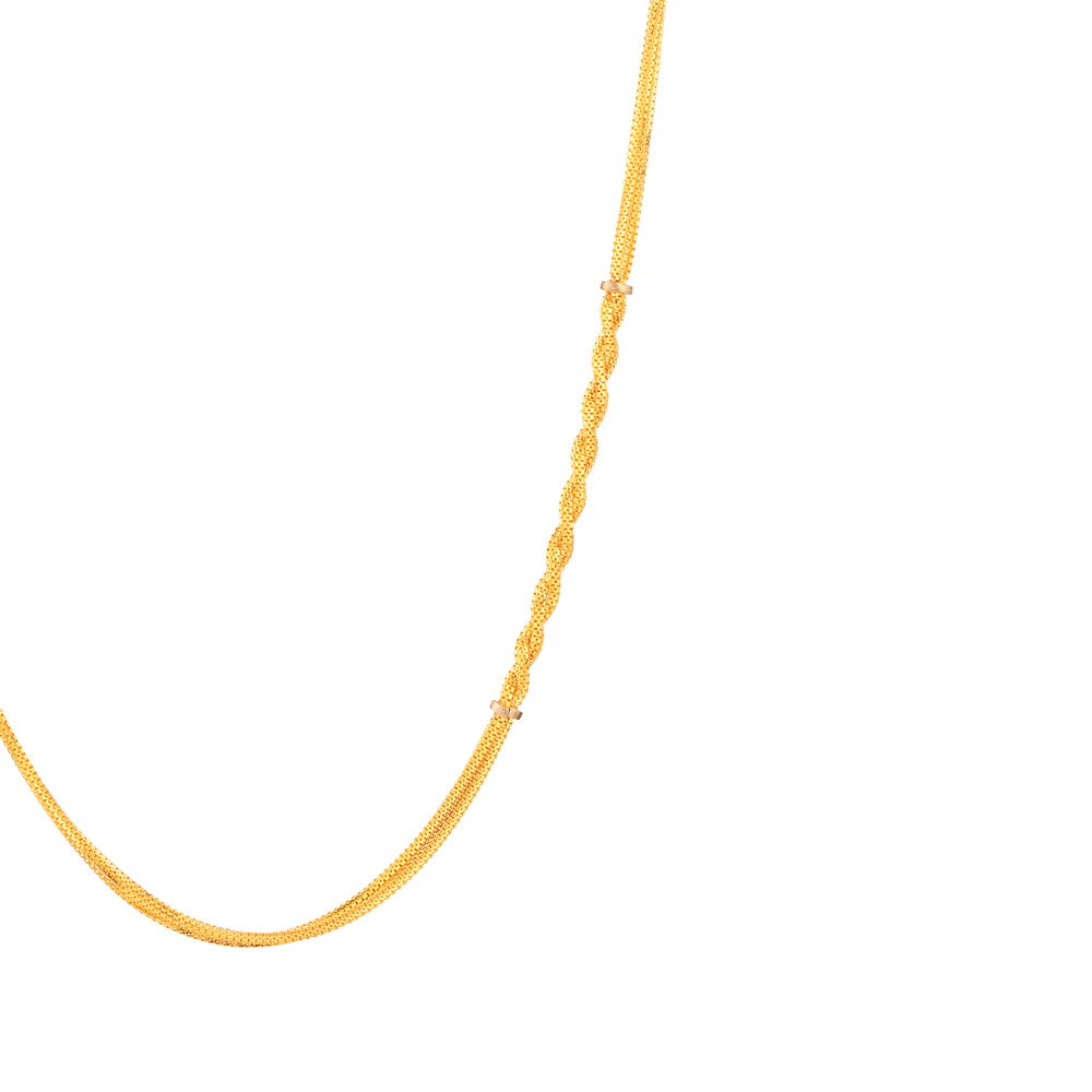 22ct Gold Chain in 20 Inches - 33633-2